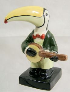 Carlton Ware Toucan Band Banjo Player 3 - Limited Edition - SOLD